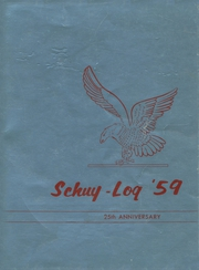 1959 Edition, Schuyler High School - Schuy Log Yearbook (Albany, NY)