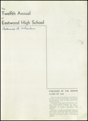 Page 5, 1936 Edition, Eastwood High School - Annual Yearbook (Syracuse, NY) online yearbook collection