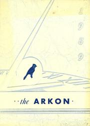 1959 Edition, Arkport Central High School - Arkon Yearbook (Arkport, NY)