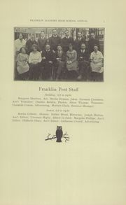 Page 7, 1923 Edition, Prattsburgh Central High School - Franklinite Yearbook (Prattsburgh, NY) online yearbook collection