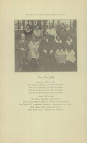 Page 8, 1923 Edition, Prattsburgh Central High School - Franklinite Yearbook (Prattsburgh, NY) online yearbook collection