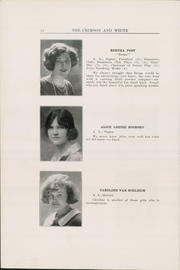 Page 16, 1925 Edition, Milne School - Bricks and Ivy Yearbook (Albany, NY) online yearbook collection