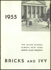 Page 5, 1955 Edition, Milne School - Bricks and Ivy Yearbook (Albany, NY) online yearbook collection