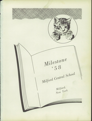 Page 5, 1958 Edition, Milford Central High School - Milestone Yearbook (Milford, NY) online yearbook collection