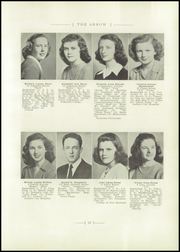 Page 17, 1946 Edition, East High School - Arrow Yearbook (Auburn, NY) online yearbook collection