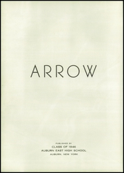 Page 8, 1946 Edition, East High School - Arrow Yearbook (Auburn, NY) online yearbook collection