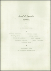 Page 10, 1947 Edition, East High School - Arrow Yearbook (Auburn, NY) online yearbook collection