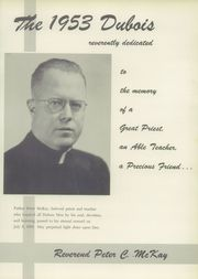 Page 5, 1953 Edition, Bishop Dubois High School - Dubois Yearbook (New York, NY) online yearbook collection
