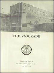 Page 7, 1949 Edition, St Simon High School - Stockade Yearbook (Bronx, NY) online yearbook collection