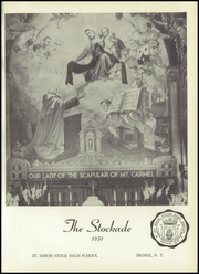 Page 5, 1951 Edition, St Simon High School - Stockade Yearbook (Bronx, NY) online yearbook collection