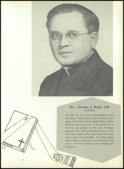 Most Holy Trinity High School - Triad Yearbook (Brooklyn, NY) online yearbook collection, 1955 Edition, Page 21
