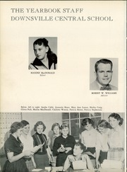 Page 6, 1957 Edition, Downsville Central High School - Aquila Yearbook (Downsville, NY) online yearbook collection