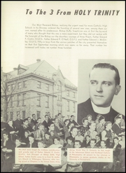 Page 12, 1950 Edition, Bishop Duffy High School - Rapideer Yearbook (Niagara Falls, NY) online yearbook collection