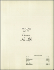 Page 9, 1953 Edition, Weldon E Howitt High School - Hi Life Yearbook (Farmingdale, NY) online yearbook collection
