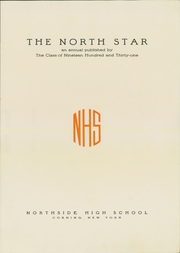 Page 7, 1931 Edition, Northside High School - North Star Yearbook (Corning, NY) online yearbook collection