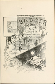 Page 11, 1892 Edition, University of Wisconsin Madison - Badger Yearbook (Madison, WI) online yearbook collection