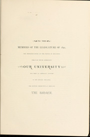 Page 15, 1892 Edition, University of Wisconsin Madison - Badger Yearbook (Madison, WI) online yearbook collection