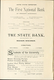 Page 2, 1892 Edition, University of Wisconsin Madison - Badger Yearbook (Madison, WI) online yearbook collection