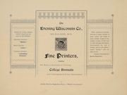 Page 6, 1895 Edition, University of Wisconsin Madison - Badger Yearbook (Madison, WI) online yearbook collection