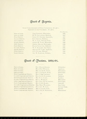 Page 17, 1896 Edition, University of Wisconsin Madison - Badger Yearbook (Madison, WI) online yearbook collection