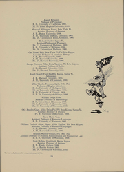 Page 23, 1909 Edition, University of Wisconsin Madison - Badger Yearbook (Madison, WI) online yearbook collection