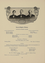 Page 377, 1909 Edition, University of Wisconsin Madison - Badger Yearbook (Madison, WI) online yearbook collection