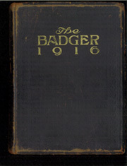 Page 1, 1916 Edition, University of Wisconsin Madison - Badger Yearbook (Madison, WI) online yearbook collection