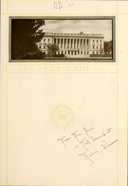 Page 5, 1922 Edition, University of Wisconsin Madison - Badger Yearbook (Madison, WI) online yearbook collection