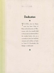 Page 13, 1931 Edition, University of Wisconsin Madison - Badger Yearbook (Madison, WI) online yearbook collection