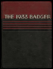 Page 1, 1933 Edition, University of Wisconsin Madison - Badger Yearbook (Madison, WI) online yearbook collection
