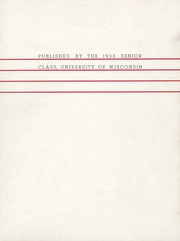 Page 7, 1933 Edition, University of Wisconsin Madison - Badger Yearbook (Madison, WI) online yearbook collection