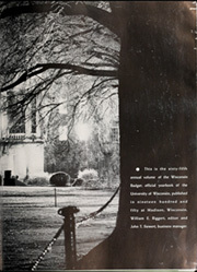 Page 7, 1950 Edition, University of Wisconsin Madison - Badger Yearbook (Madison, WI) online yearbook collection