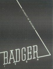 1954 Edition, University of Wisconsin Madison - Badger Yearbook (Madison, WI)