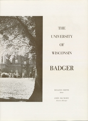 Page 7, 1954 Edition, University of Wisconsin Madison - Badger Yearbook (Madison, WI) online yearbook collection