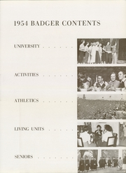 Page 9, 1954 Edition, University of Wisconsin Madison - Badger Yearbook (Madison, WI) online yearbook collection