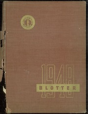 1948 Edition, Kew Forest School - Blotter Yearbook (Forest Hills, NY)