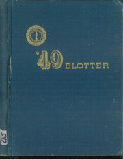 1949 Edition, Kew Forest School - Blotter Yearbook (Forest Hills, NY)