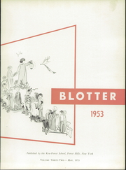 Page 7, 1953 Edition, Kew Forest School - Blotter Yearbook (Forest Hills, NY) online yearbook collection