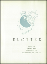 Page 7, 1956 Edition, Kew Forest School - Blotter Yearbook (Forest Hills, NY) online yearbook collection