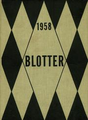 1958 Edition, Kew Forest School - Blotter Yearbook (Forest Hills, NY)