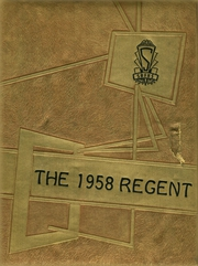 1958 Edition, St Regis Falls High School - Regent Yearbook (St Regis Falls, NY)