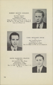 Page 16, 1955 Edition, Darrow School - Shaker Post Yearbook (New Lebanon, NY) online yearbook collection