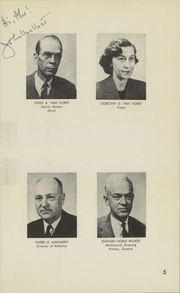 Page 7, 1955 Edition, Darrow School - Shaker Post Yearbook (New Lebanon, NY) online yearbook collection