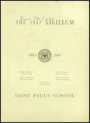 Page 5, 1947 Edition, St Pauls School - Sigillum Yearbook (Garden City, NY) online yearbook collection