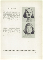 Page 13, 1940 Edition, Birch Wathen Lenox High School - Archway (New York, NY) online yearbook collection