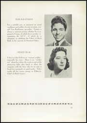 Page 15, 1940 Edition, Birch Wathen Lenox High School - Archway (New York, NY) online yearbook collection