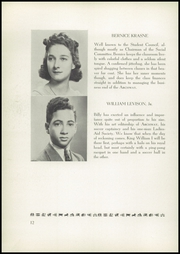 Page 16, 1940 Edition, Birch Wathen Lenox High School - Archway (New York, NY) online yearbook collection