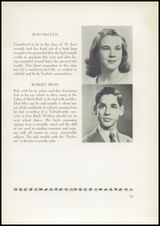 Page 17, 1940 Edition, Birch Wathen Lenox High School - Archway (New York, NY) online yearbook collection