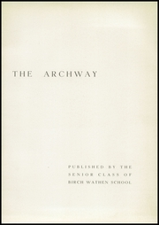 Page 5, 1940 Edition, Birch Wathen Lenox High School - Archway (New York, NY) online yearbook collection