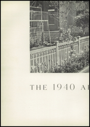 Page 6, 1940 Edition, Birch Wathen Lenox High School - Archway (New York, NY) online yearbook collection
